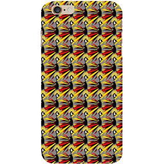 ifasho Animated Pattern peacock Back Case Cover for Apple iPhone 6S Plus