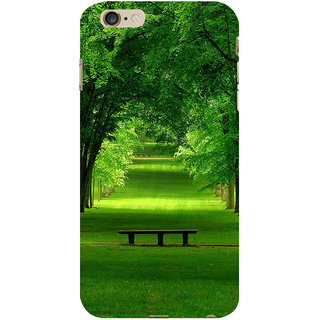 ifasho Green grass road with 3Dees on the two side Back Case Cover for Apple iPhone 6S Plus
