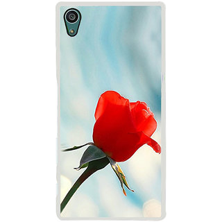 ifasho Red Rose Back Case Cover for Sony Xperia Z5