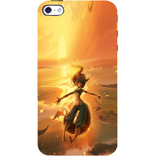 ifasho Girl in water animated Back Case Cover for Apple iPhone 5