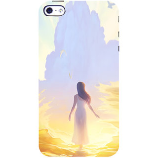 ifasho Girl painting Back Case Cover for Apple iPhone 5