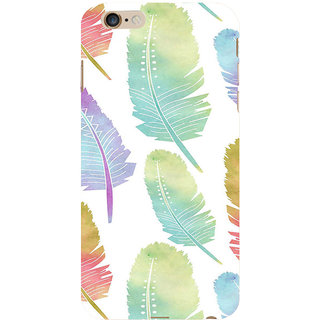 ifasho Animated  Feather Back Case Cover for Apple iPhone 6S Plus