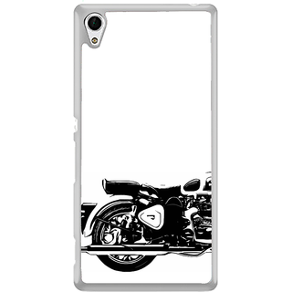 ifasho Royal Bike Back Case Cover for Sony Xperia Z3 Plus