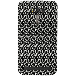 ifasho Modern Art Design animated cloth Pattern of small flower Back Case Cover for Asus Zenfone 2 Laser ZE601KL