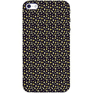 ifasho Animated Pattern colourful littel stars Back Case Cover for Apple iPhone 5