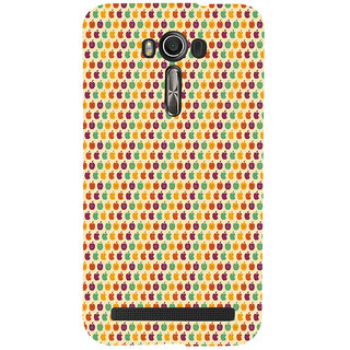 ifasho Animated Pattern design many small apple Back Case Cover for Asus Zenfone 2 Laser ZE601KL