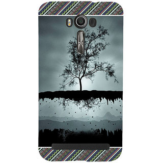 ifasho 3Dee on air animated beautiful Back Case Cover for Asus Zenfone 2 Laser ZE601KL