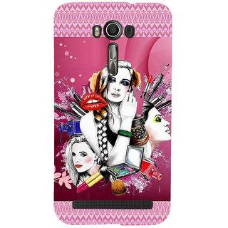 new arrival db4b1 217dc ifasho fashion Girls Back Case Cover for Asus Zenfone 2 Laser ZE601KL