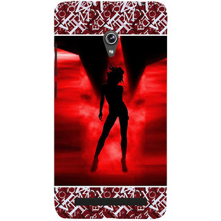 ifasho Girl dancing Back Case Cover for Asus Zenfone 5