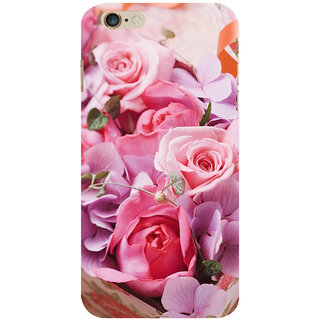ifasho Red Rose Back Case Cover for Apple iPhone 6S Plus