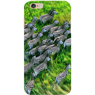 ifasho Zebra with S3Dipes Back Case Cover for Apple iPhone 6S Plus