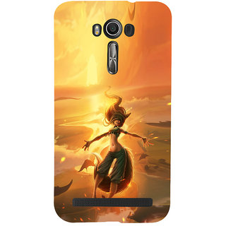 ifasho Girl in water animated Back Case Cover for Asus Zenfone 2 Laser ZE601KL