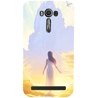 ifasho Girl painting Back Case Cover for Asus Zenfone 2 Laser ZE601KL