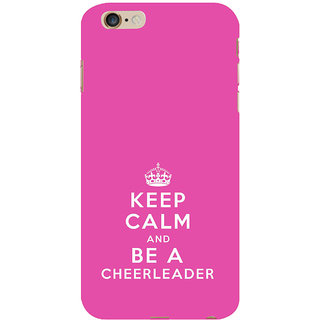 ifasho Nice Quote On Keep Calm Back Case Cover for Apple iPhone 6S Plus
