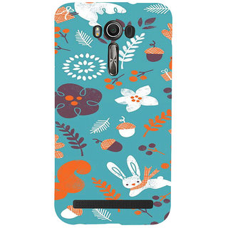 ifasho Animated Pattern Animal AND creature Back Case Cover for Asus Zenfone 2 Laser ZE601KL
