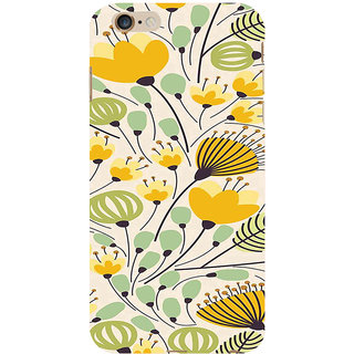 ifasho Animated Pattern colrful flower with leaves Back Case Cover for   6S Plus