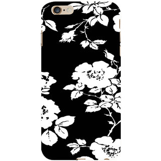 ifasho Animated Pattern rose flower with leaves Back Case Cover for   6S Plus