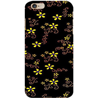 ifasho Animated Pattern colrful design flower with leaves Back Case Cover for   6S Plus