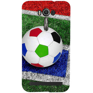 ifasho Foot ball Back Case Cover for Asus Zenfone 2 Laser ZE601KL