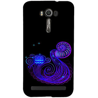 ifasho zodiac sign aquarius Back Case Cover for Asus Zenfone 2 Laser ZE601KL