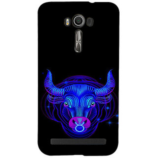 ifasho zodiac sign Taurus Back Case Cover for Asus Zenfone 2 Laser ZE601KL