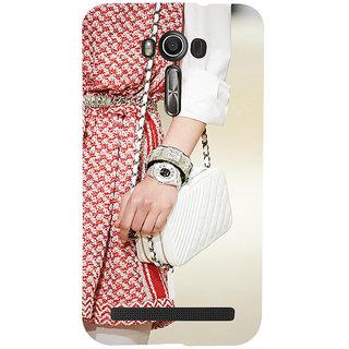 ifasho Designer dress pattern Back Case Cover for Asus Zenfone 2 Laser ZE601KL