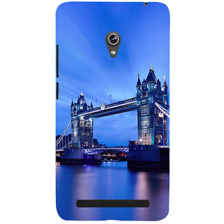 ifasho London Bridge Back Case Cover for Asus Zenfone 5