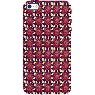 ifasho Animated Pattern black and white many lotus flower Back Case Cover for   5