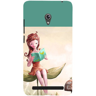 ifasho enjoy the life Back Case Cover for Asus Zenfone 5