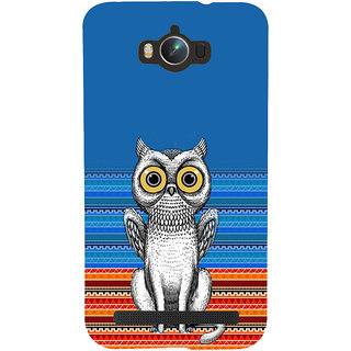 ifasho ModernBird and Owl Pattern Back Case Cover for Asus Zenfone Max