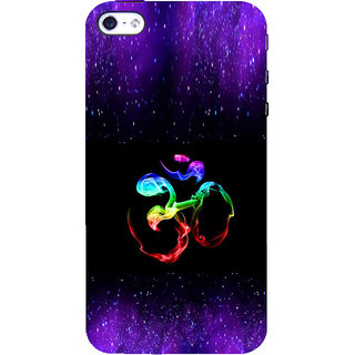ifasho Om animated design Back Case Cover for Apple iPhone 5