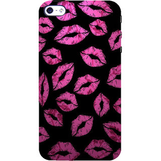 ifasho lovely Lips Back Case Cover for Apple iPhone 5