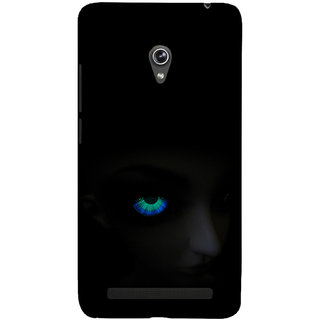 ifasho Girl with shining eyes Back Case Cover for Asus Zenfone 5