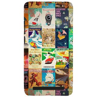 ifasho Animated Pattern colourful hollywood film posters  Back Case Cover for Asus Zenfone 5