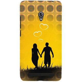 ifasho Boy Holding girls Hand Back Case Cover for Asus Zenfone 6