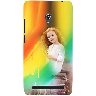 ifasho Girl playing Back Case Cover for Asus Zenfone 5