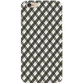 ifasho Colour Full Square Pattern Back Case Cover for   6S Plus