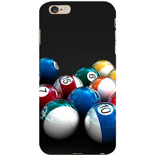 ifasho Design colourful biliards ball pattern Back Case Cover for Apple iPhone 6S Plus