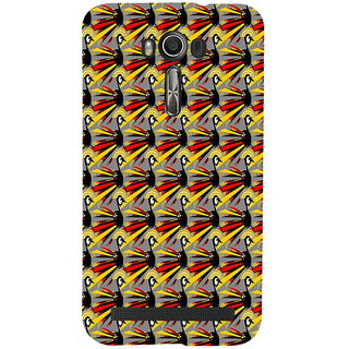 ifasho Animated Pattern peacock Back Case Cover for Asus Zenfone 2 Laser ZE601KL