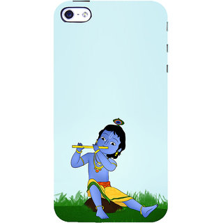 ifasho Lord Krishna with Flute Back Case Cover for   5