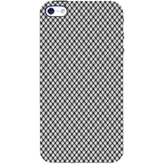 ifasho Design lines pattern and square pattern Back Case Cover for   5