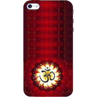 ifasho Modern Art Om design pattern Back Case Cover for Apple iPhone 5