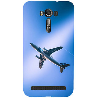 ifasho aeroPlane flying in blue sky Back Case Cover for Asus Zenfone 2 Laser ZE601KL