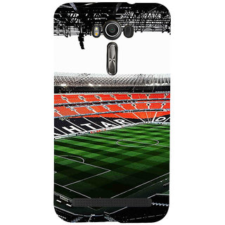 ifasho Football stadium field Back Case Cover for Asus Zenfone 2 Laser ZE601KL