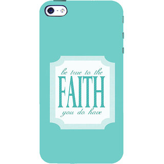 ifasho Faith  Quote Back Case Cover for   5