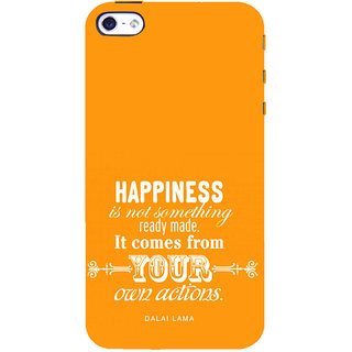 ifasho Faith  Quote on happiness Back Case Cover for   5