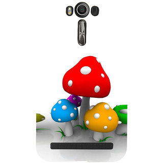 ifasho Mushrooms cartoon Back Case Cover for Asus Zenfone 2 Laser ZE601KL