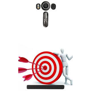 ifasho Hit the bulls eye  Back Case Cover for Asus Zenfone 2 Laser ZE601KL