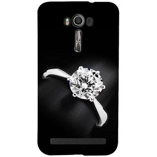 ifasho Engagement Ring Back Case Cover for Asus Zenfone 2 Laser ZE601KL