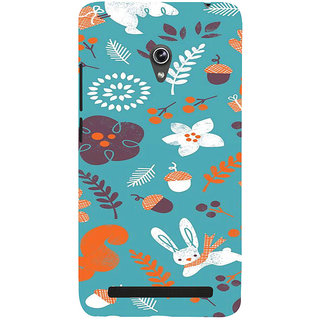 ifasho Animated Pattern Animal AND creature Back Case Cover for Asus Zenfone 6